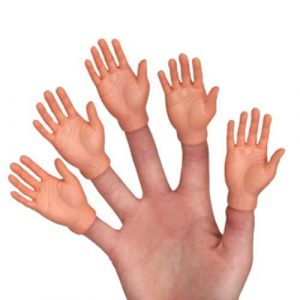 Finger Hands Finger Puppets