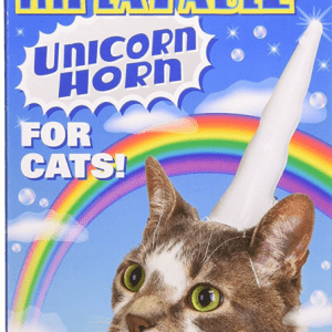 Inflatable Unicorn Horn for Cats 3