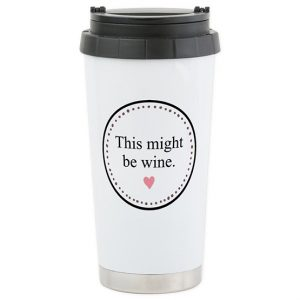 CafePress Travel Mug - Stainless Steel