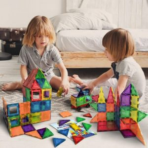 Magnetic Building Tiles for Kids
