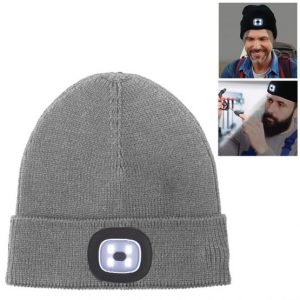 Beanie Cap 4 LED Flashlight Hat 1