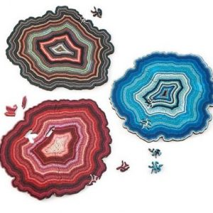 wooden geode puzzle