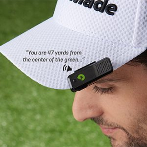 Golf Range Finder with audible GPS